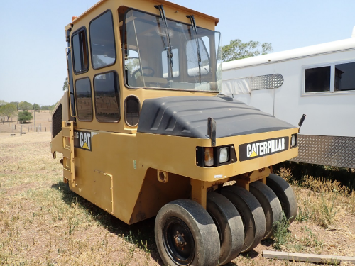 2008 Caterpillar Multi Tyre Roller (Location: Haigslea, QLD)
