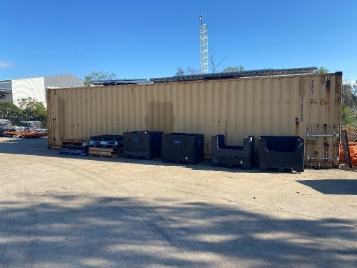 40ft Double Door Shipping Container