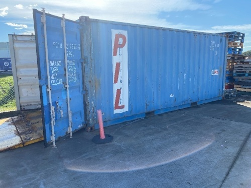 20ft Double Door Shipping Container