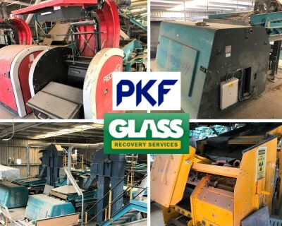 *Offers invited by COB Tuesday 28th July 2020* - Complete Glass Recycling and Colour Sorting Plant - List of Assets