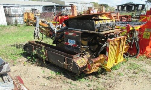 Unreserved Apache Air Track Drill Rig