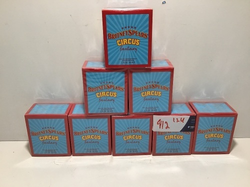 Bulk Pack - 8 x Britney Spears Fantasy Circus Eau de Parfum 30ml Spray