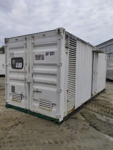 Used - 2010 Caterpillar C15 Sound Proof 500 KVA - 0CYY00798 (Depo Balikpapan, Kalimantan )