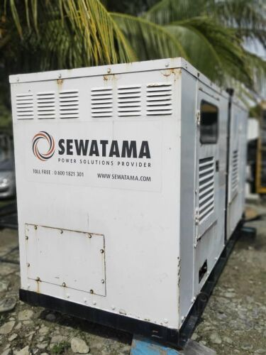 Used - 1995 Caterpillar 3208 Sound Proof 140 KVA - 02HG00453 (Depo Balikpapan, Kalimantan )