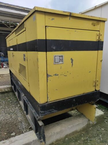 Used - 1995 Olympian CD100 Sound Proof 100 KVA - 07AK03598 (Depo Balikpapan, Kalimantan )