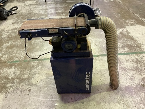 "Carbatec 6""x9"" Belt/Disc Sander with Stand"