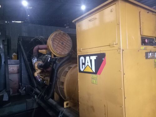 Used - 2007 Caterpillar C32 Open Type 1000 KVA - 0SXC01871 (Pontianak, Kalimantan )