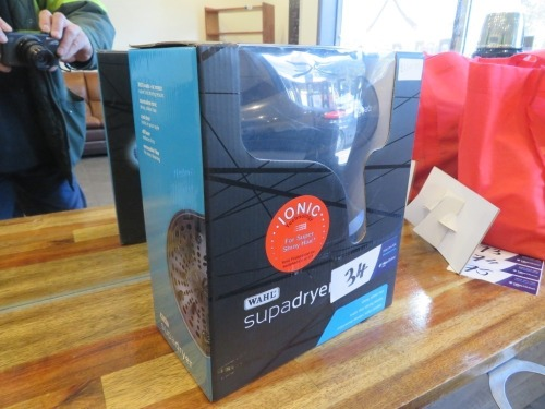Wahl Supadryer Hair Dryer, 240 volt. New in Box