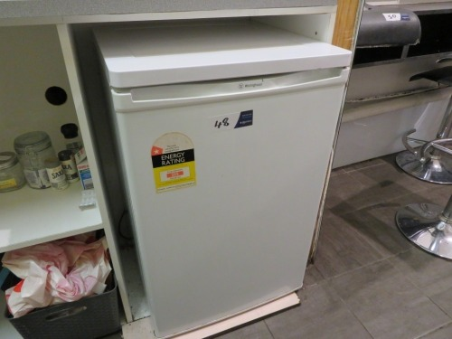 Westinghouse Bar Fridge, Model: WRM130WL, 128 Litre capacity, 240 volt