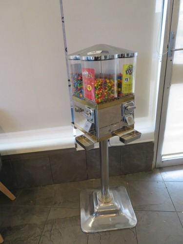 Gourmet Candy Shop, 4 Cylinder Sweet Dispensing Machine