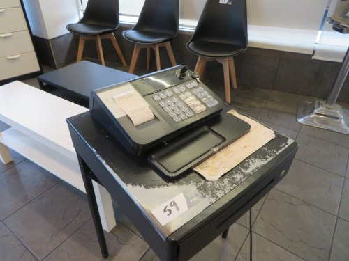 Casio Electronic Cash Register, Model: SE-510, 240 volt, with Keys