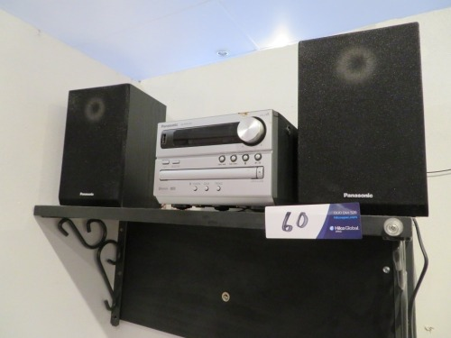 Panasonic Mini Sound System, Model: SA-PM250, AM/FM Radio, CD, USB & Bluetooth capacity, 2 x Speakers