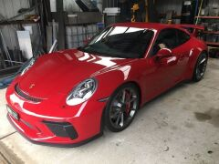 2017 Red Porsche 911 GT3 991 Automatic Coupe with only 3,657 Kilometres