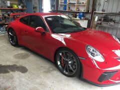2017 Red Porsche 911 GT3 991 Automatic Coupe with only 3,657 Kilometres - 4