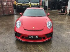 2017 Red Porsche 911 GT3 991 Automatic Coupe with only 3,657 Kilometres - 43