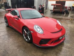 2017 Red Porsche 911 GT3 991 Automatic Coupe with only 3,657 Kilometres - 45