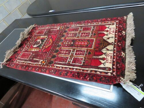 Persian Rug, KC5MONQI, Red, Orange & Cream, Afghanistan Pure Wool Pile Khal Mohammdi, 1150mm L x 690mm W